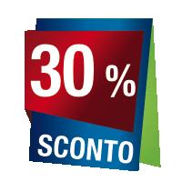 Prodotti con sconto 30 %