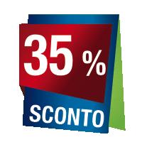 Prodotti con sconto 35 %