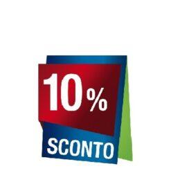 Prodotti con sconto 10 %