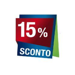 Prodotti con sconto 15 %